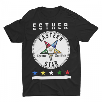 Eastern Star Chapter Certified T-Shirt – Esther