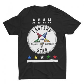 Eastern Star Chapter Certified T-Shirt – Adah