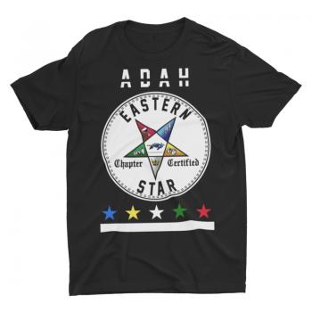 Eastern Star Chapter Certified T-Shirt – Adah