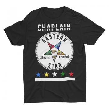 Eastern Star Chapter Certified T-Shirt – Chaplain