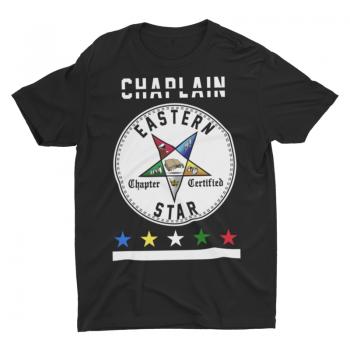 Eastern Star Chapter Certified T-Shirt – Chaplain
