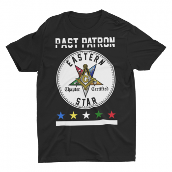 Eastern Star Chapter Certified T-Shirt – Past Patron