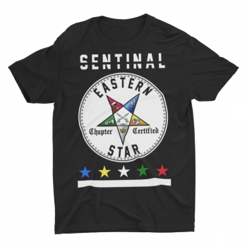 Eastern Star Chapter Certified T-Shirt – Sentinal